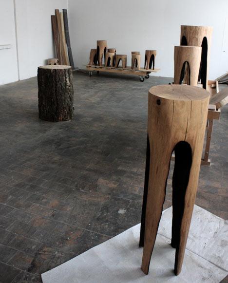 47. Einen Backenzahn Selber Machen. Puristische Designmöbel Aus Holz Von Kaspar  Hamacher