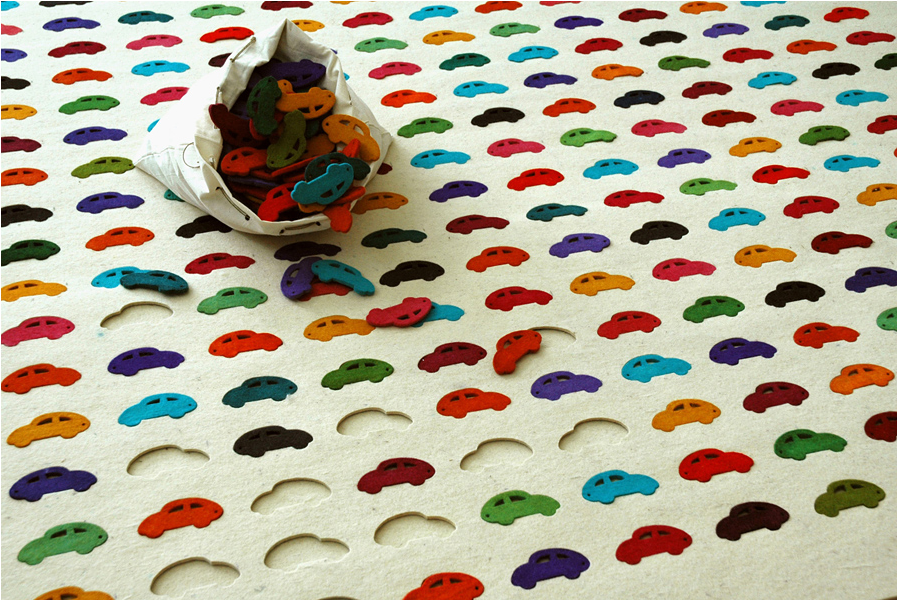 Agnieszka Czop Hat Kinderfreundliche Teppiche Entworfen, Bei Denen Die  Gestaltung Jedem Selber überlassen Bleibt. Die Kinder Werden Auf Jeden Fall  Ihren ...